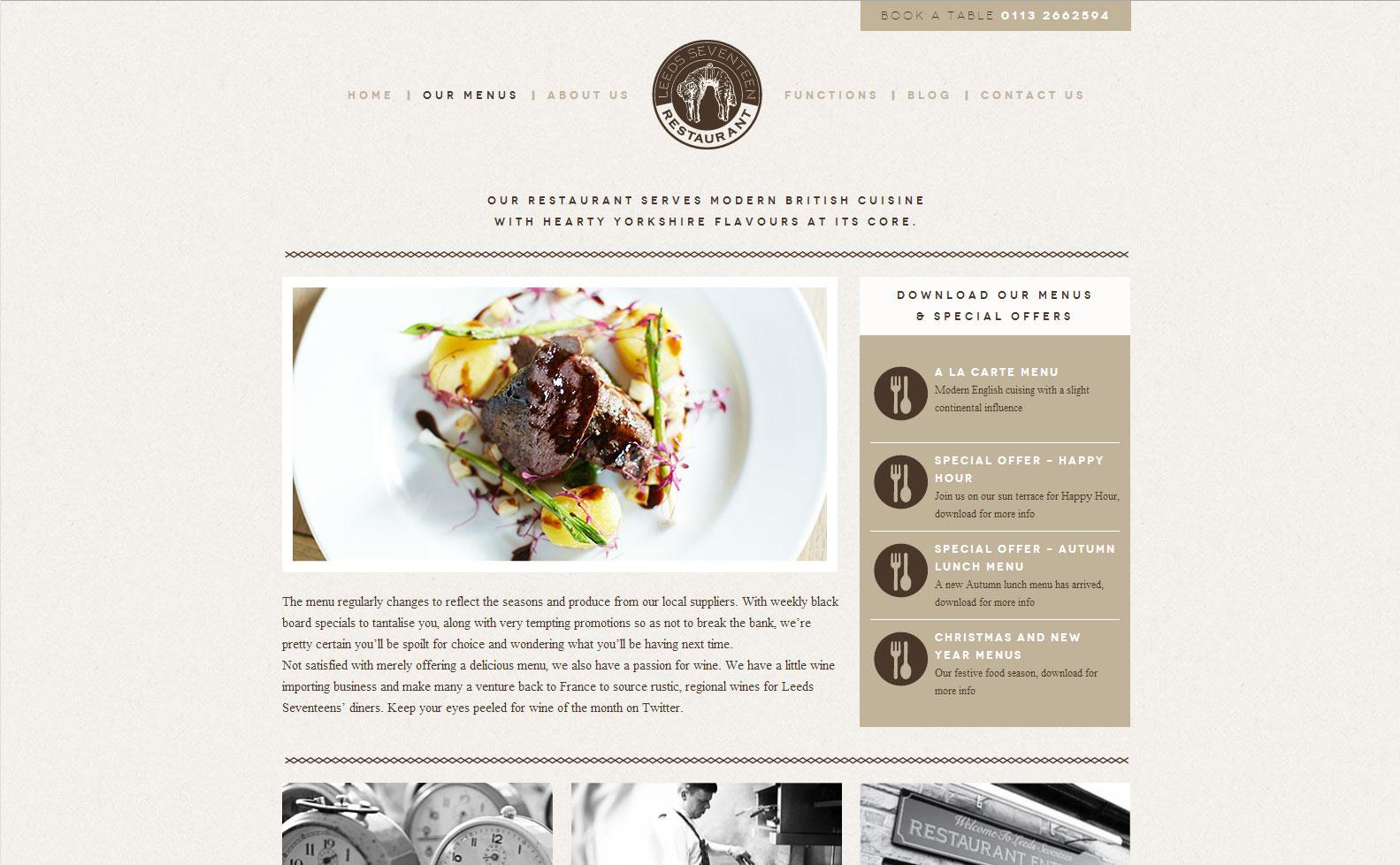 Leeds 17 Website