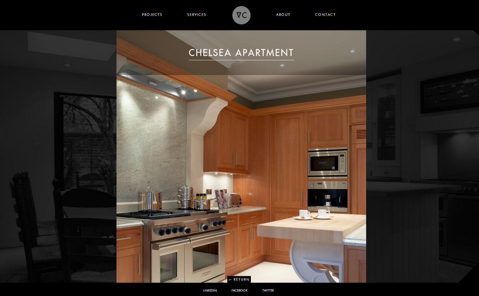 brochure website contruction firm london